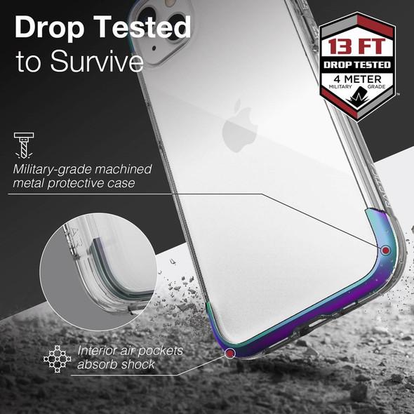 Raptic Air for iPhone 13 - Iridescent