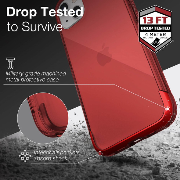 Raptic Air for iPhone 13 - Red