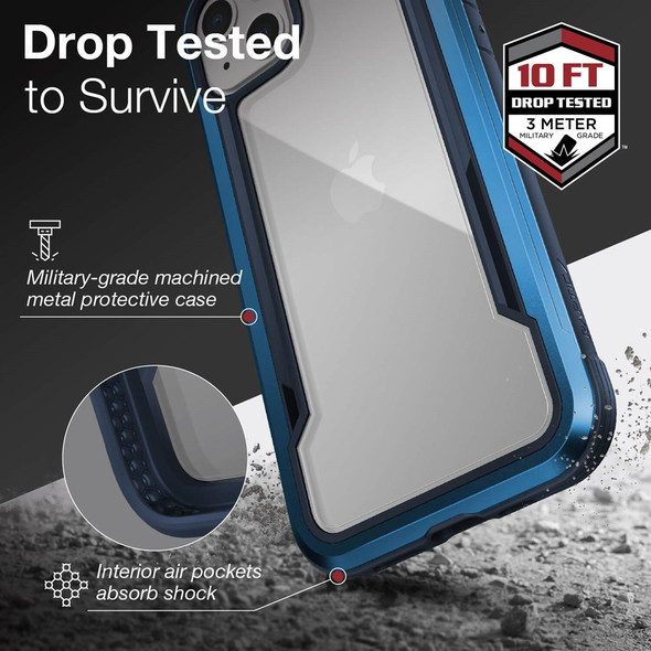 Raptic ShieldPro for iPhone 13 - Blue