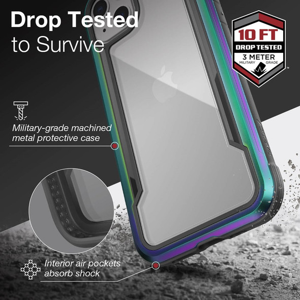 Raptic ShieldPro for iPhone 13 - Iridescent