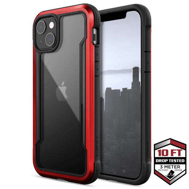 Raptic ShieldPro for iPhone 13 - Red
