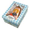 Ornament, St Nicholas icon bell ornament in a presentation box