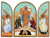 Triptych: Resurrection, large icons