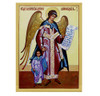 Magnet, Guardian angel with girl icon on thick and durable 1/4-inch acrylic.