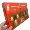 Iconostasis: Orthodox Christian Jigsaw Puzzle. Ages 3+. Side view of box.