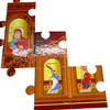 Iconostasis: Orthodox Christian Jigsaw Puzzle. Ages 3+. Puzzle pieces.