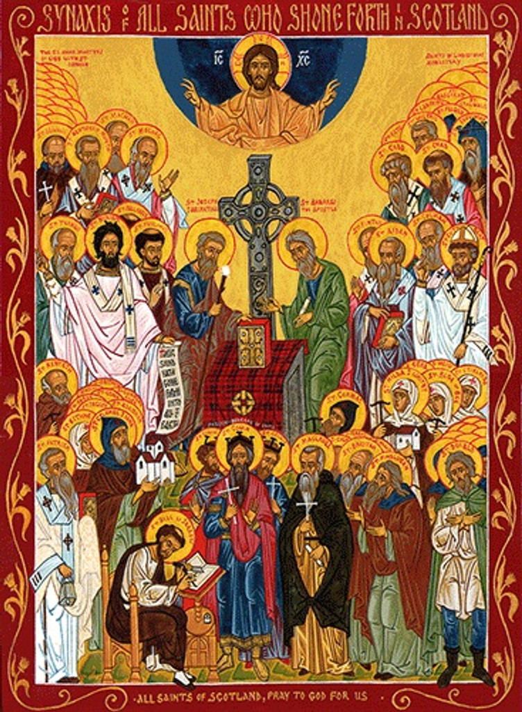 All Saints of Scotland, medium icon