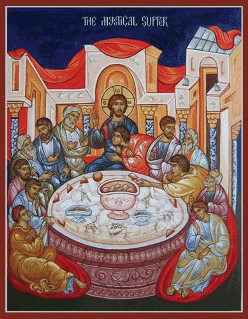The Mystical Supper, large icon