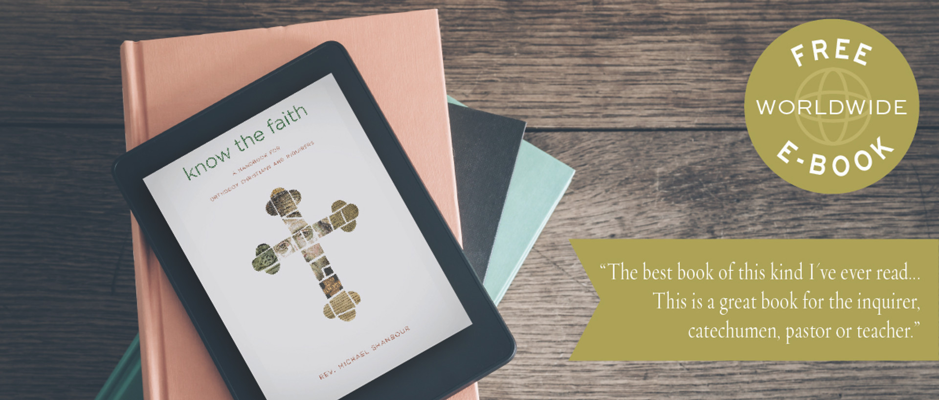 Know the Faith FREE eBook OFFER!