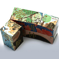 Orthodox Learning Cube, The Creation. Inside view.