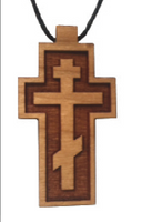 The photo printed in our 2016 catalog was incorrect. The lower bar of the cross was depicted in the wrong direction.