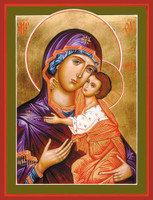 Virgin and Child, large icon
