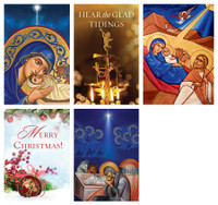 Mixed Pack of 2018 Christmas Cards