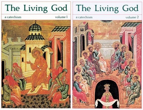 The Living God: A Catechism for the Christian Faith (2-volume set) by Olivier Clement