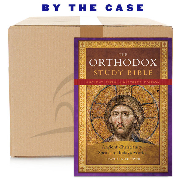 The Orthodox Study Bible, Ancient Faith Edition, Leathersoft: Ancient Christianity Speaks to Today's World, case
