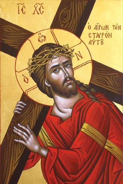 Christ Carrying the Cross, large icon
