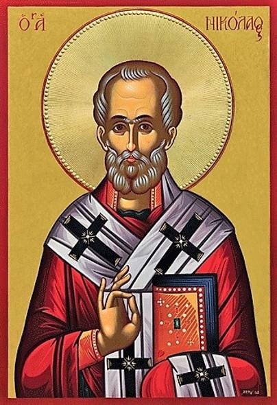 Saint Nicholas of Myra, medium icon