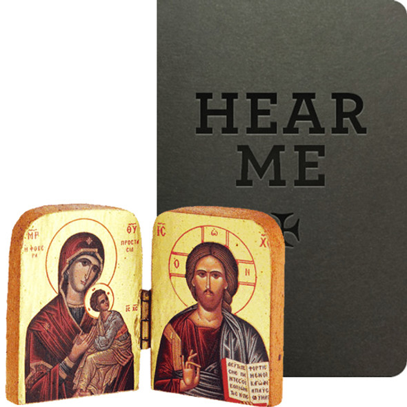 For Student: Hear Me / Diptych, Christ and Mother of God