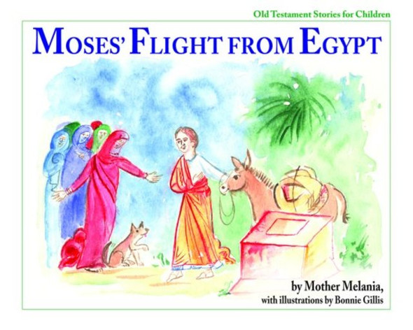 Moses' Flight from Egypt by Mother Melania