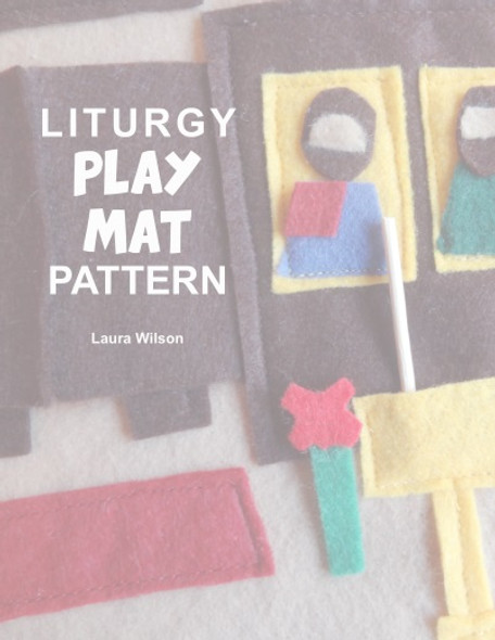 Orthodox Liturgy Play Mat Pattern, downloadable pdf