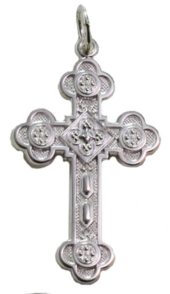 Antiochian Cross, sterling silver, extra large
