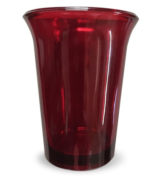 Vigil Glass, red