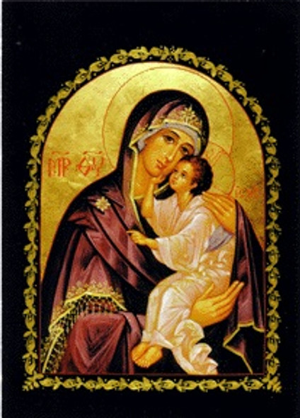 Mother of God, Lovingkindness, medium Orthodox icon