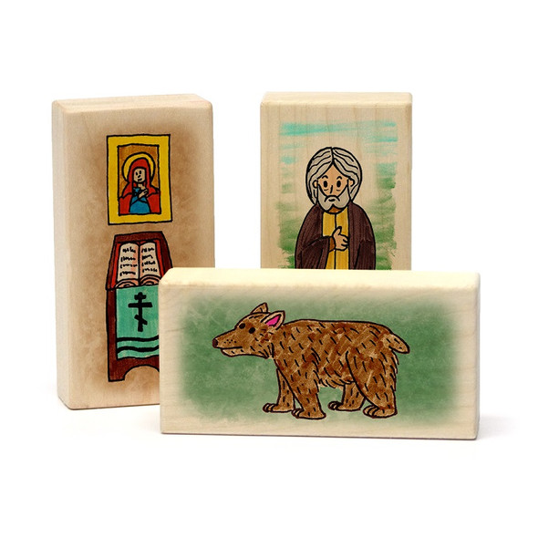 Little Saints Saint Seraphim Playset