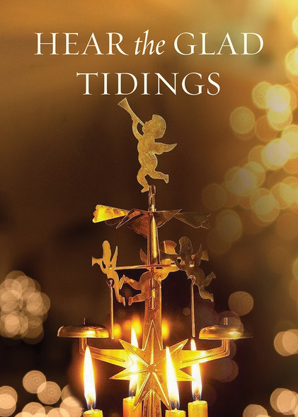 Hear the Glad Tidings, individual Christmas card