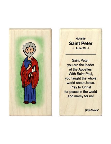 Little Saints Saint Peter Individual Block