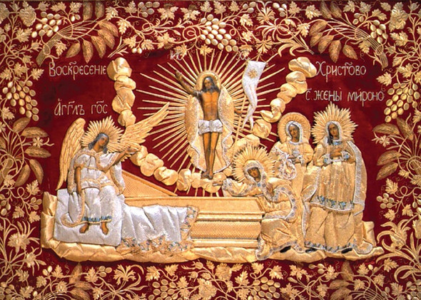He is Risen, individual Pascha / Easter cards