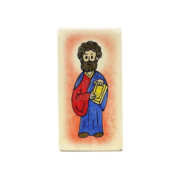 Little Saints Apostle Mark Individual Block