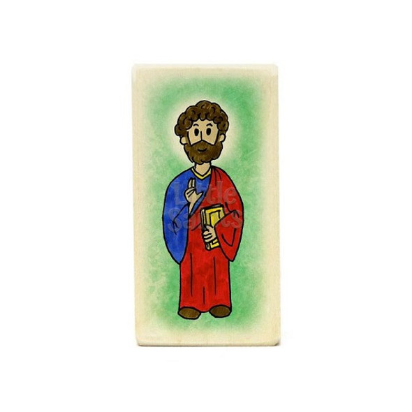 Little Saints Apostle Luke Individual Block