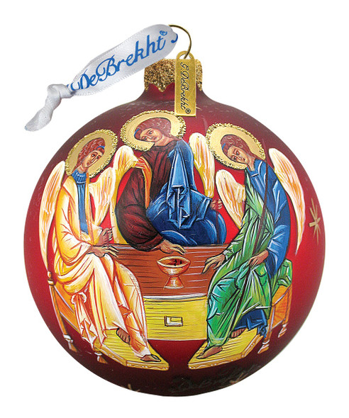 Ornament, Old Testament Trinity ball ornament