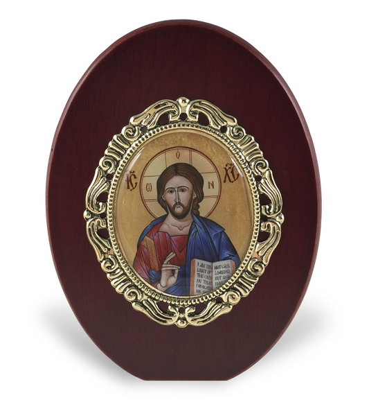Christ the Lightgiver standing icon