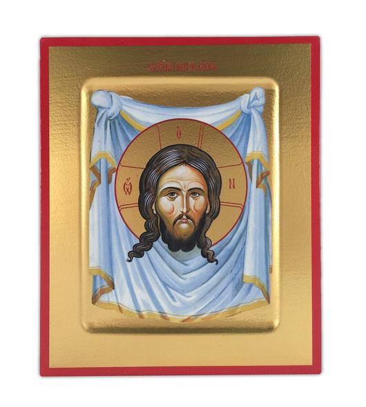 Christ Mandylion, small free-standing icon