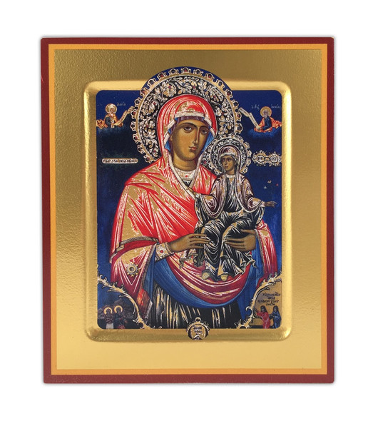 St Anna Holding the Virgin Mary, small free-standing icon
