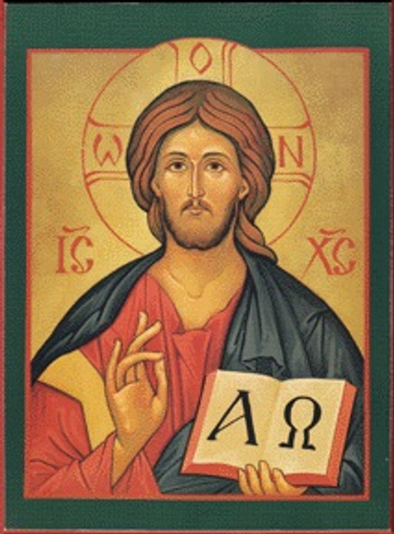 Christ the Savior, small icon
