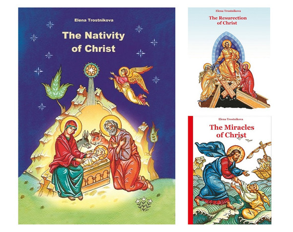 Scripture and Feasts Series, set of 3 children's books