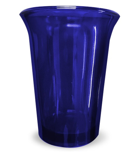 Vigil Glass, blue
