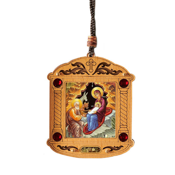 Ornament, Nativity with incense