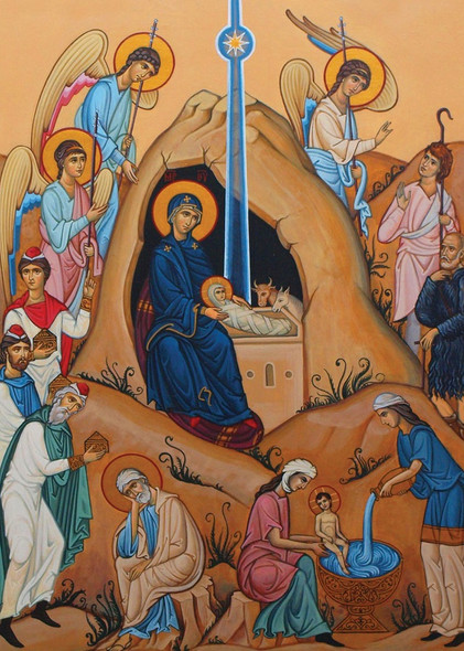 The Birth of Christ (2020), individual Christmas card