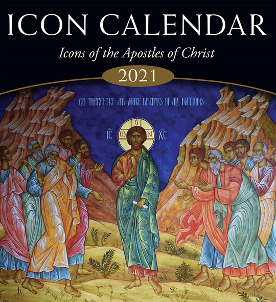 2021 Icon Calendar, Icons of the Apostles of Christ
