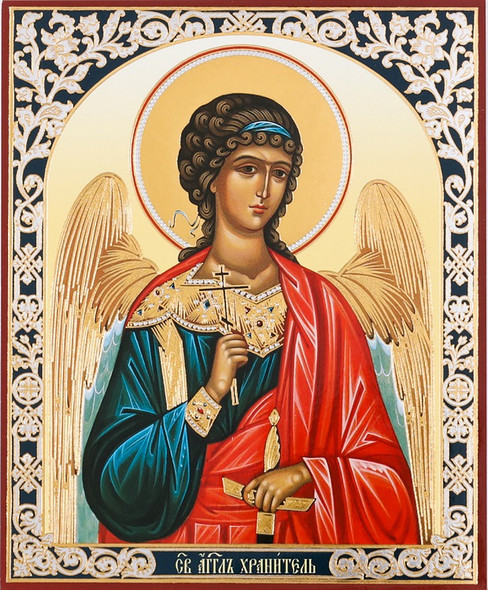 Guardian Angel (gold and silver foil), small icon