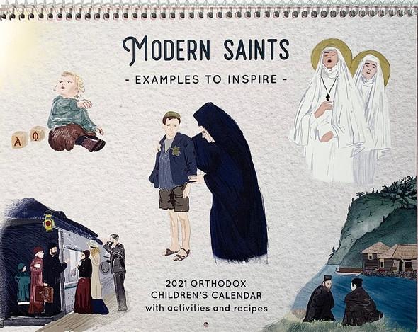 2021 Orthodox Children's Calendar: Modern Saints - Examples to Inspire