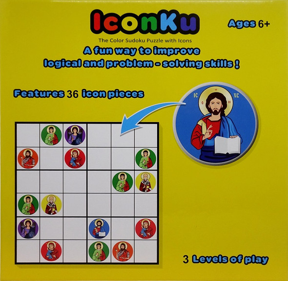 IconKu: The Color Sudoku Puzzle with Icons