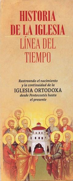 50-Pack Timeline Of Church History (HISTORIA DE LA IGLESIA - LINEA DEL TIEMPO)