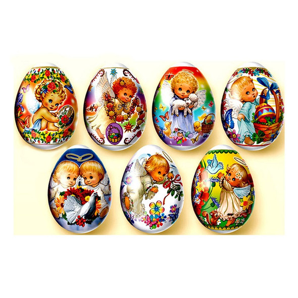 Egg Wraps with Angel Designs (pack of 7)