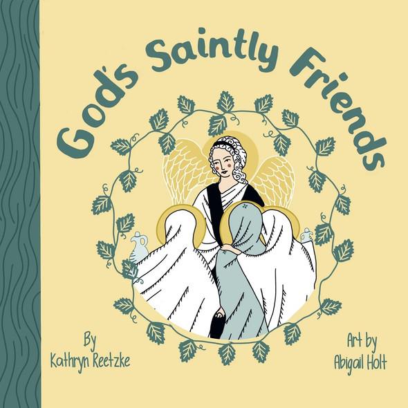God's Saintly Friends board book
