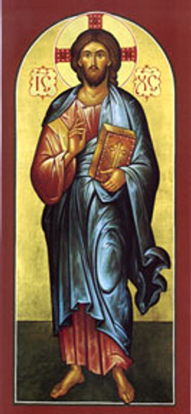 Christ Our Lord, full-figure icon